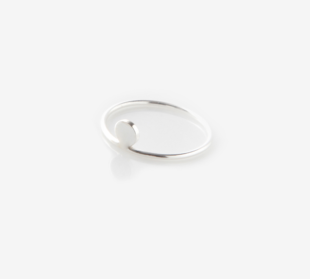 Point Silver Ring