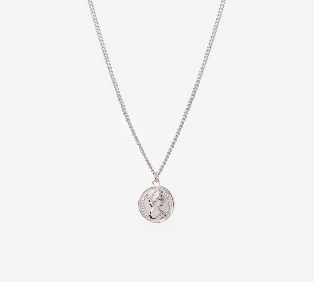 Coin Metal Necklace