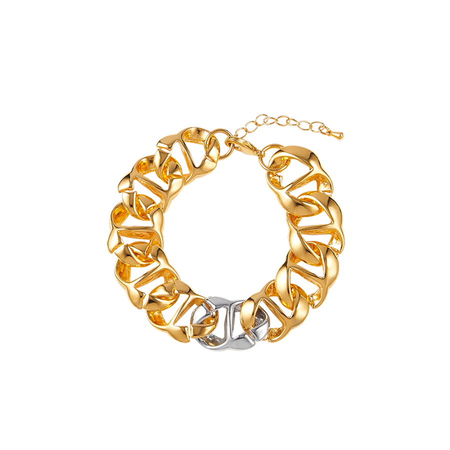 Blurred Lines Bold Chain Bracelet